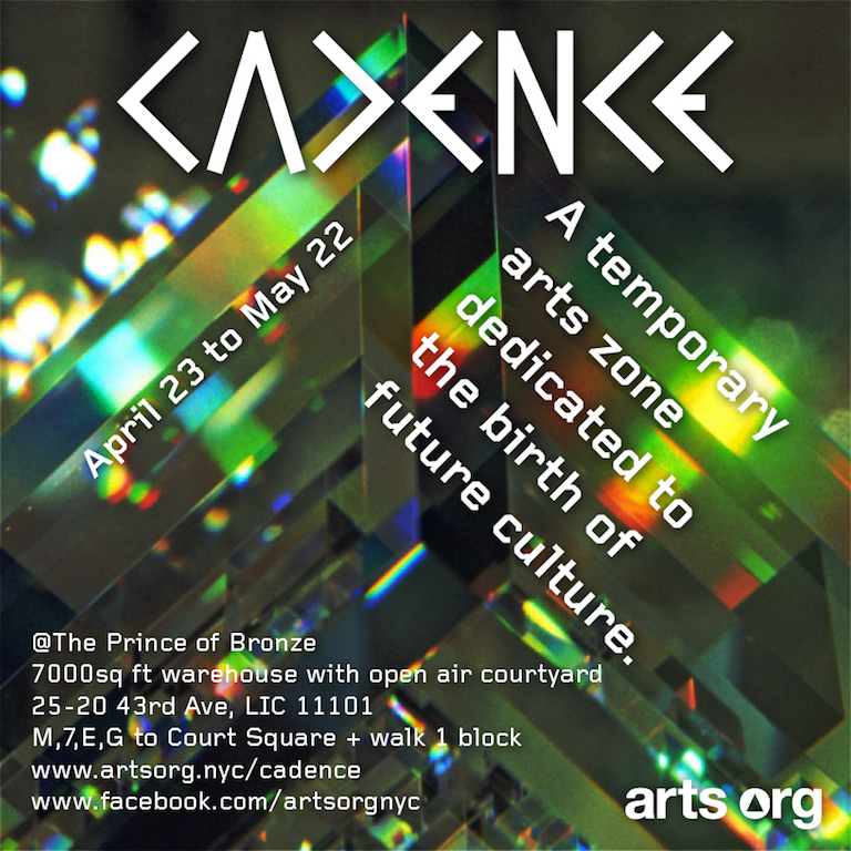Cadence @ The Prince of Bronze | Arts Org NYC
