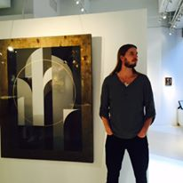 Rubin415 with his work